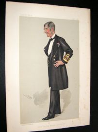 Vanity Fair Print 1889 Sir. J. E. Commerell